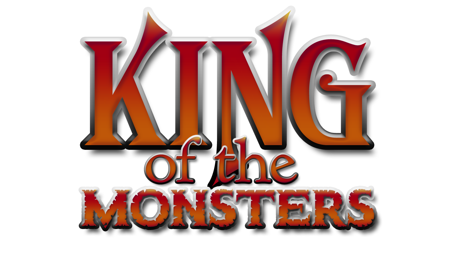 King of the Monsters  I Am King Logo