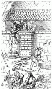iron smelting