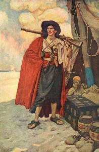 Howard Pyle Pirate