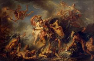 Charles-Antoine Coypel, Fury of Achilles