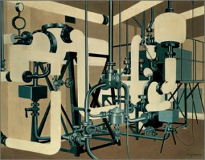 Carl Grossberg, White Tubes (1933)