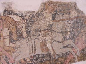 mural of Saint Ladislaus