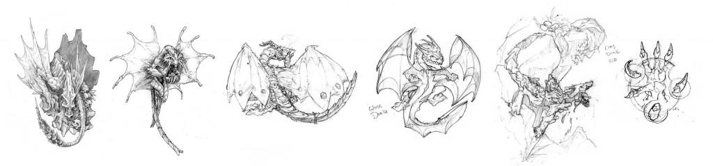 Drake Sketches by Hugo Solis
