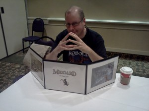 Wade with Midgard GM screen