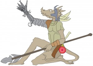 Kobold Gauntlet Witch