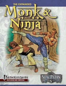New Paths 5 Expanded Monk and Ninja
