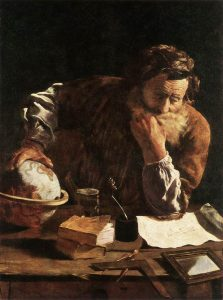 Portrait of a Scholar - Domenico Fetti