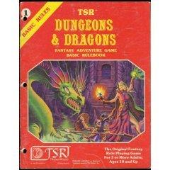 Red Box D&D; TSR, Inc.