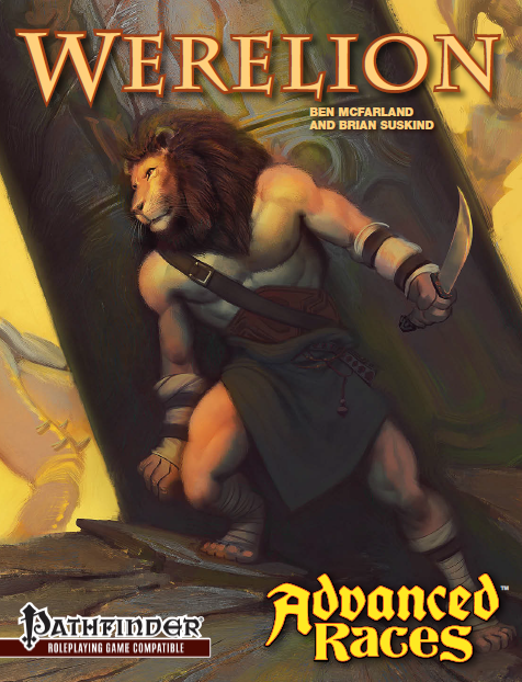 Advanced Races - Werelion cover