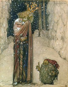 John Bauer, Sagoprinsessan, 1915