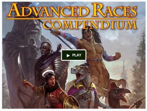 Advanced Races Compendium Kickstarter Sneak Peek: Drow