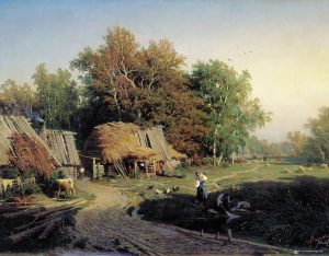 F.Vasilyev: Village (1869)