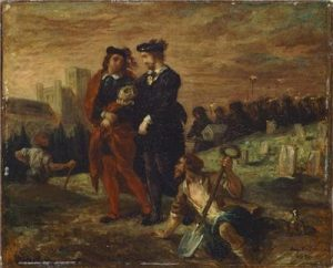 Hamlet et Horatio, Louvre