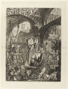 Giovanni Battista Piranesi, Italian, 1720–1778 The Man on the Rack, 1761