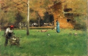 The Old Barn, George Inness