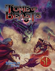 Tome of Beasts Cover A