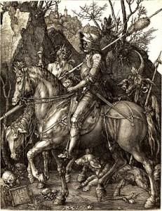Albrecht Dürer - Knight, Death and the Devil