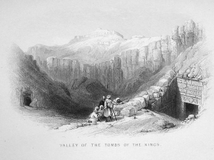 from The Nile Boat or Glimpses of the Land of Egypt by W H Bartlett 1862