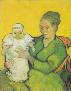 Van Gogh, Madame Augustine Roulin with Baby