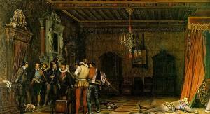 Paul Delaroche, Assassination of Henry I