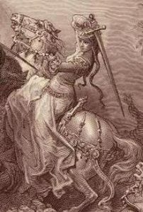 Gustave Dore, Florine of Burgundy