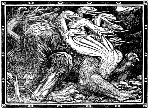 Illustration from Europa's Fairy Book