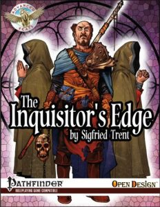 Cover for The Inquisitor's Edge