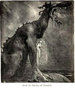 John Bauer, Svipdag transformed