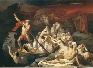 """Charon Carrying Souls Across the Styx"", Litovchenko"