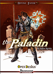 Divine Favor - The Paladin cover
