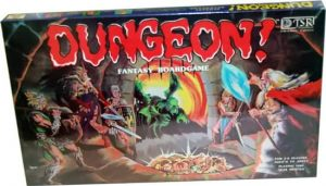 Dungeon Board Game 1980