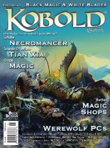 Cover for Kobold Quarterly magazine #19