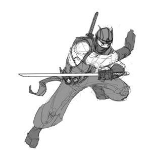 Character Theme: Gray Warrior (Part 2 of 2)
