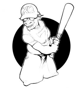 Batter Up! (Artist: Peter Bradley)