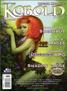 Kobold Quarterly #21: Designing the Shaman