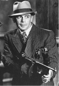 """Paul Muni as """"Scarface"""" in the film Scarface (The Caddo Company, 1932)"""