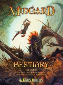 Design Diary: Brian Liberge on the 4th Edition Midgard Bestiary