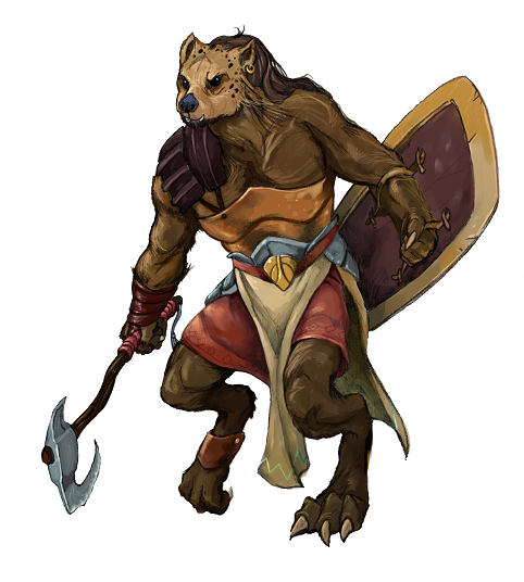 Building Character: Feats for Gnolls   Kobold Press