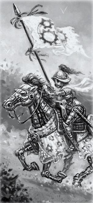 Zobeck gearforged cavalry