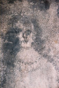 "Cesar Tort provides a picture of the infamous ""Wall face"" appearance, purportedly paranormal but probably made by human hands, of the famous House of the Faces in Spain."