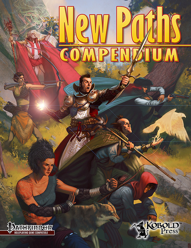 Available Now: New Paths Compendium for Hero Lab | Kobold Press
