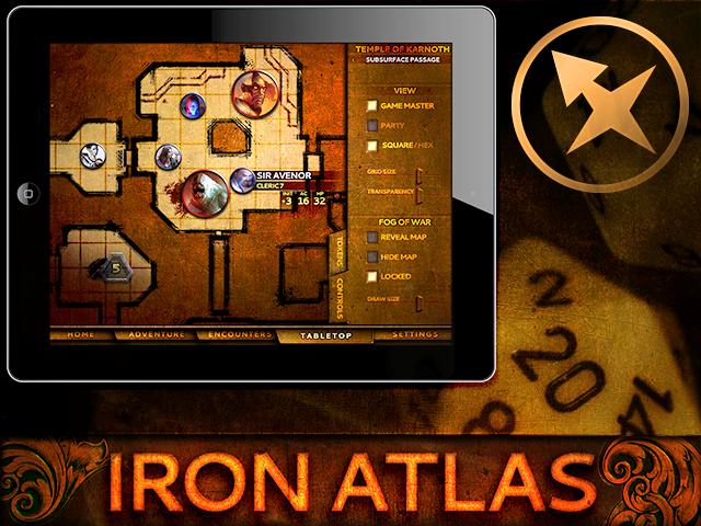 Iron Atlas Cover