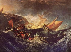 The Wreck of a Transport Ship by William Turner