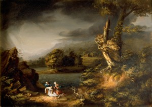 The Tempest by Thomas Cole