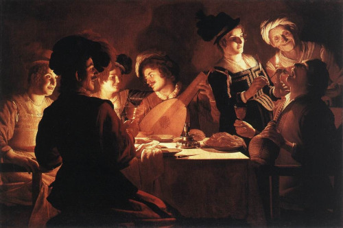 Gerrit van Honthorst's Supper Party