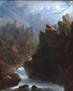 The Bard (ca. 1817), by John Martin